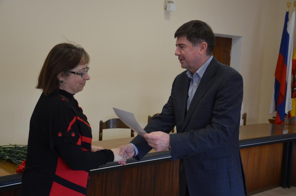 В Евпатории работников культуры поздравили с профессиональным праздником