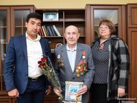 Ветеранов поздравили с юбилеем