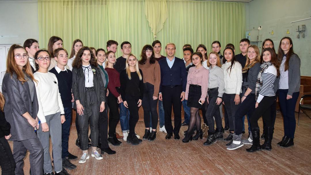 Андрей Филонов: вместе с молодежью начинаем новый патриотический проект